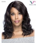 Vivica Fox SAHARA - Remi Human Hair Invisible Side Part Lace Front Wig