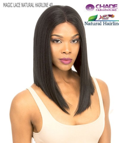 New Born Free Lace Front Wig - MLN40 MAGIC LACE NATURAL HAIRLINE 40 Synthetic Lace Front Wig
