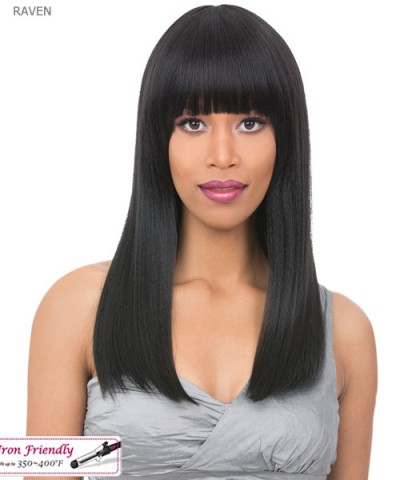 It's a wig Synthetic  Full Wig - RAVEN