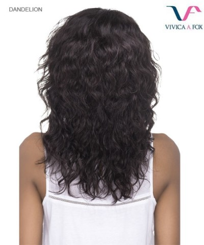 Vivica Fox DANDELION - Remi Human Hair Invisible Side Part Lace Front Wig