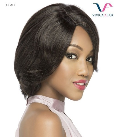 Vivica Fox  GLAD - Remi Human Hair Invisible Side Part Lace Front Wig