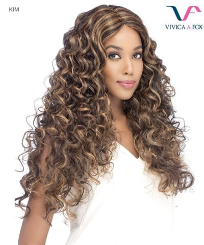 Vivica Fox KIM - Synthetic Invisible Center Part Lace Front Wig