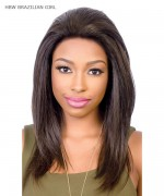 Diana Brazilian Secret Human Blend Hair Lace Front Wig - HBW BRAZILIAN GIRL