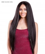 Diana Brazilian Secret Human Blend Hair Lace Front Wig - HBW OLIVIA GIRL