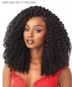 Sensationnel  Synthetic Hair Piece  African Collection - BANTU KNOT OUT 12 3PCS-SNAP