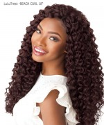 Sensationnel  Synthetic Hair Piece - LuLuTress -BEACH CURL 18""
