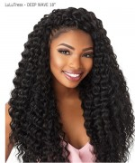 Sensationnel  Synthetic Hair Piece  LuLuTress -DEEP WAVE 18""