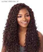 Sensationnel  Synthetic Hair Piece  LuLuTress -DISCO CURL 18""