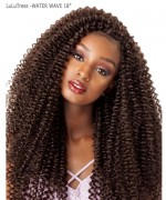 Sensationnel  Synthetic Hair Piece - LuLuTress - WATER WAVE 18""