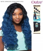 Outre Synthetic Weave Extension - Batik Duo - JAMAICAN OCEAN WAVE 5PCS