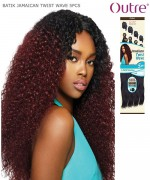 Outre Synthetic Weave Extension - Batik Duo - JAMAICAN TWIST WAVE 5PCS
