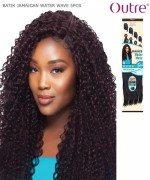 Outre Synthetic Weave Extension - Batik Duo - JAMAICAN WATER WAVE 5PCS