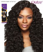 "Outre Human Hair Blend Weave Extension - Brazilian Boutique - VIRGIN DEEP 18""20""22"""
