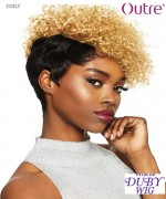 Outre Human Hair Full Wig - Duby Clipper Cut - COILY