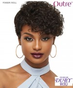 Outre Human Hair Full Wig - Duby Clipper Cut - FINGER ROLL