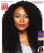 Outre Human Hair Weave Extension - Purpple Pack - PINEAPPLE WAVE 10""