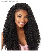 Sensationnel  Synthetic Hair Piece LuLuTress -DEEP TWIST 18