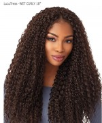 Sensationnel  Synthetic Hair Piece LuLuTress - WET CURLY 18