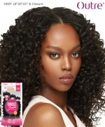 Outre Remi Human Hair Weave Extension - Bundle Babe -  DEEP 18