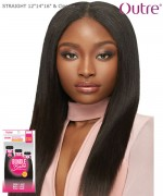 Outre Remi Human Hair Weave Extension - Bundle Babe - STRAIGHT 12