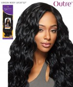 Outre Human Hair Blend Weave Extension - Brazilian Boutique - VIRGIN BODY 18