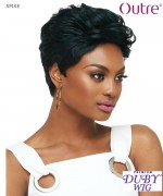 Outre Human Hair Full Wig - Duby Clipper Cut - SPIKE