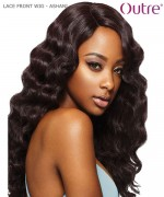 Outre Synthetic Lace Front Wig Swiss Lace L Part -  ASHANI