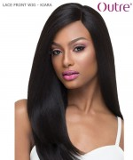 Outre Hand Tied Synthetic Lace Front Wig Swiss Lace L Part - KIARA