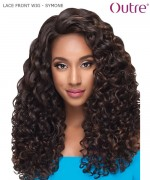 Outre Synthetic Lace Front Wig Swiss Lace L Part - SYMONE