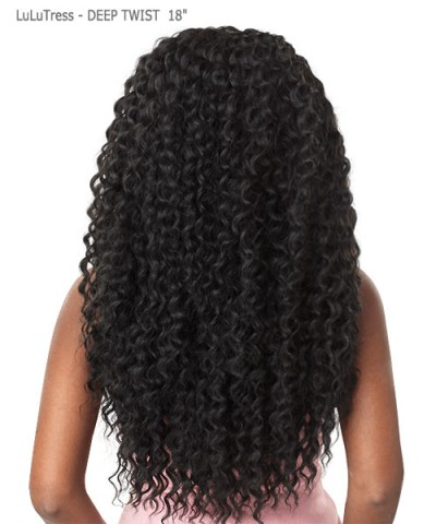 Sensationnel  Synthetic Hair Piece LuLuTress -DEEP TWIST 18""