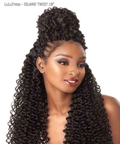Sensationnel  Synthetic Hair Piece  LuLuTress - ISLAND TWIST  18""