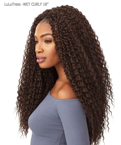 Sensationnel  Synthetic Hair Piece LuLuTress - WET CURLY 18""