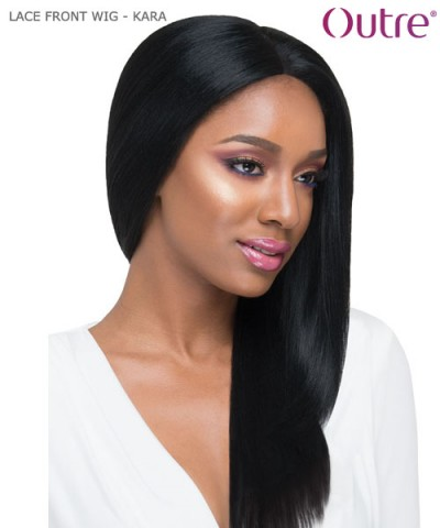 Outre Hand Tied Synthetic Lace Front Wig Swiss Lace L Part - KARA