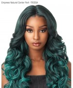 Sensationnel Synthetic Lace Front - Empress Natural Center Part -TRISSA