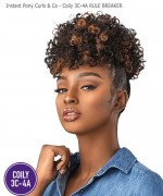 Sensationnel  Synthetic - Instant Pony Curls Kinks & Co - RULE BREAKER