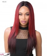 It's a wig Synthetic IRON FRIENDLY Full Wig - KELIS