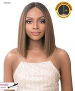 "It's a wig Synthetic 4"" Deep Lace Part  Full Wig - ONIKA"