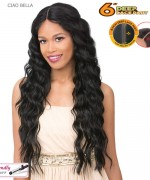 "It's a wig  6 "" Deep Lace Part  Wig - CIAO BELLA"