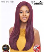 Vanessa TOPS DRJ JOLEY - Synthetic Deep Reverse J-Side Swiss Silk Lace Front Wig