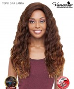 Vanessa TOPS DRJ LANTA - Synthetic Deep Reverse J-Side Swiss Silk Lace Front Wig
