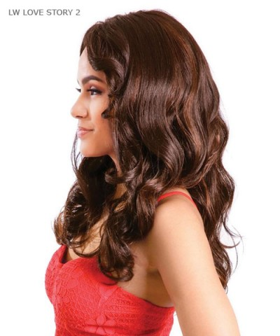Diana 2-IN-1 Styles Synthetic Lace Front Wig - LW LOVE STORY 2