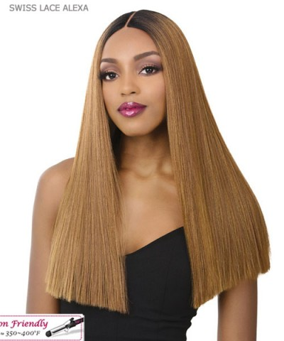 "It's a wig  6"" Deep Lace Part Wig - SWISS LACE  ALEXA"
