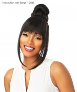 Sensationnel  Synthetic Hair Piece - Instant Bun with Bangs - DANI