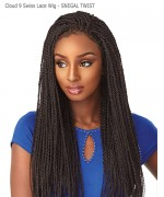 Sensationnel  Synthetic Cloud 9 Swiss Lace Wig -SENEGAL TWIST