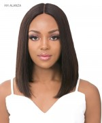 "It's a wig Human Hair 6"" Deep Lace Part Wig - HH ALANZA"