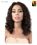 Motown Tress Human Hair 13x2 Hand Tied Lace Front Wig - HPL3.SHEER