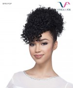 Vivica Fox Synthtic Bang & Bun Hair Piece - BPB-POP