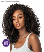 Sensationnel  Synthetic Half Wig  Instant Weave Curls Kinks & Co - THE SHOW STOPPER