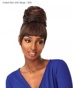 Sensationnel Synthetic Hair Instant Bun with Bangs - ADA