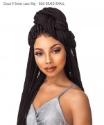 Sensationnel  Synthetic  Cloud 9 Swiss Lace Wig - BOX BRAID SMALL